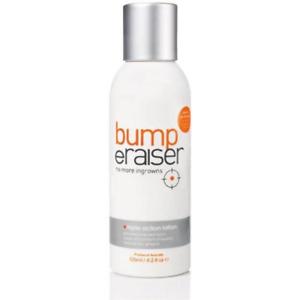 Bump eRaiser Triple Action Lotion Ingrown Hair Treatment 125ml Wax Waxing Remove
