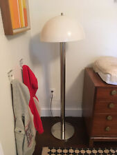 Vintage Mid-Century Modern Laurel Lamp Chrome Mushroom Floor Lamp Light