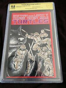 Teenage Mutant Ninja Turtles comic #1, 5th Printing Signed by Kevin Eastman 9.8