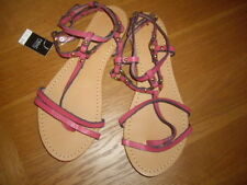 Strappy 100% Leather NEXT Sandals & Beach Shoes for Women