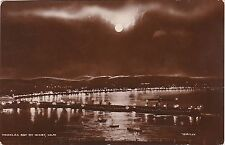 Monnlit Scene, The Bay By Night, DOUGLAS, Isle Of Man RO