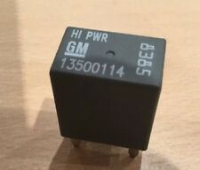 NEW GENUINE VAUXHALL ASTRA CORSA VECTRA  + MANY OTHERS,GREY RELAY 13500114 4-PIN