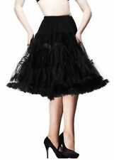 Knee Length Polyester Flippy, Full Skirts for Women