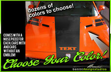 Full Set Dual Hood Racing Stripes Fits 2008 2014 Dodge Challenger Sxt Rt Srt8