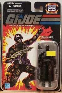"G.I. Joe 25th Anniversary: Commando - Snake Eyes 3.75"" Figure"