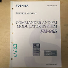 tv video home audio manual resources for toshiba for sale ebay rh ebay com User Manual Template Operators Manual