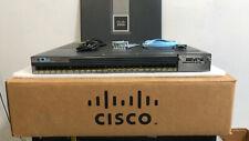 CISCO WS-C3750X-24S-S 24-Port SFP GIGABIT Switch ios-15.2.tar Tested 3750X-24S-S