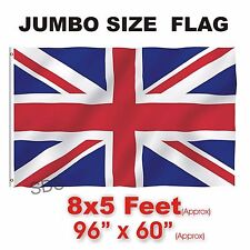 Union Jack Flag Large Great Britain British Sport Olympics Jubilee 8 X 5ft