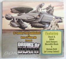 DJ SPOOKY THAT SUBLIMINAL KID & DAVE LOMBARDO - DRUMS OF DEATH - CD Sigillato