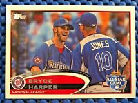 """BRYCE HARPER 2012 Topps Update """"All Star Game"""" Rookie RC #US 299 MINT"""