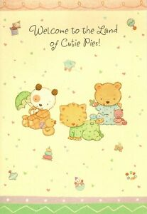 Congratulations New Baby Welcome To Land Of Cutie Pies Hallmark Greeting Card
