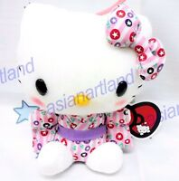 "Sanrio 5""  Hello Kitty Stuffed Plush -Purple Colour / In Japanese Kimono"