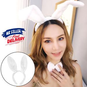 Bunny Rabbit Ears Child Adult Easter Masquerade Hoop Cosplay Costume Headband