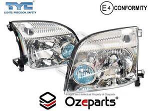 Set / Pair LH+RH Head Light Front Lamp For Nissan X-Trail Xtrail T30 2001~2007
