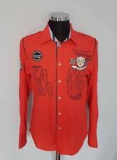 CAMP DAVID  Herren  Hemd  Shirt  Rot  Langarm Gr. M