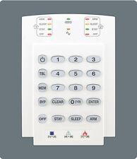 Sistema De Alarma De Seguridad Paradox-K10V de 10 Zonas Teclado Led Cableado Módulo