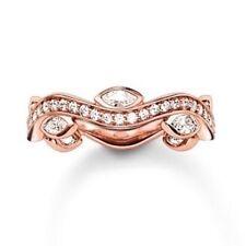 NEU Thomas Sabo Glam & Soul Silver/rose CZ Unendlichkeit Ring TR2011 Größe 56 £ 169