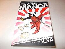 The Mammoth Book Of Best New Manga edited by Ilya   SC new