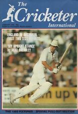 THE CRICKETER INTERNATIONAL MAGAZINE 1983 - ALL ISSUES COMPLETE EXCEPT FEB/MARCH