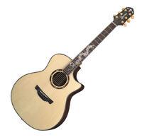 Crafter KDG-036 SR Premium Cutaway Top Back Solid L.R. Baggs Acoustic Guitar
