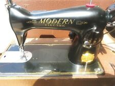 Vintage Modern Sewing Machine Deluxe Precision with Foot Pedal