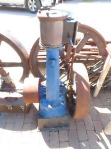 Antique Upright Live Olds & Son No 5 Steam Engine