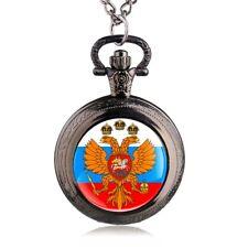 Montre de poche russe blason Doppeladler urss russie aigle blason + COLLIER UM24