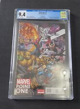 Marvel Point One #1 Bradshaw Variant CGC 9.4 1st Appearance Sam Alexander Nova