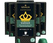 180 Gevalia Nespresso Compatible Capsules Velvet Espresso Pods BB 3/20/21