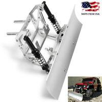 1/10 RC Alloy Snow Shovel Plow Blade for Axial SCX10 SCX10ll Traxxas TRX-4 _US