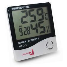 JOVISA Eyelash Extension Clock Digital Calendar Temperature Hygrometer Control