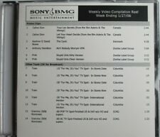 """CÉLINE DION - DAVID BOWIE - MEW - CARRIE UNDERWOOD - """"SONY BMG 2006 PROMO DVD"""""""