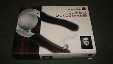COLIN MONTGOMERIE Golf Ball Monogrammer