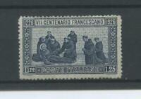 REGNO 1926 S. FRANCESCO RARO 2 **  CERT.