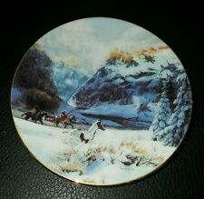 Faces of the Spirits Running With The Wind Mini Plate Julie Kramer Cole #5098A