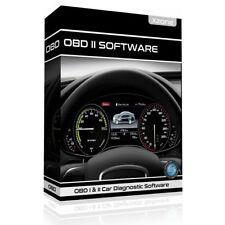 Obd1 & Obd2 Car Diagnostic Software + ECU BHP Tuning OBDII Elm327
