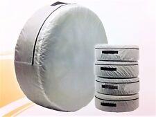 4Stk Satz Reifentasche Reifenhülle Reserveradhülle Reifenschutz Schutzhülle