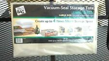 SPACE BAG ~ Vacuum-Seal Storage Tote ~ UNDER THE BED / LARGE SIZE ~ 25.5 X 19.75