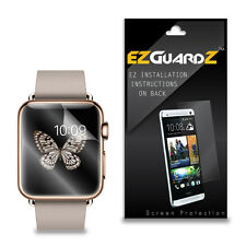 3X EZguardz LCD Screen Protector Skin Cover HD 3X For Apple Watch Edition 38mm
