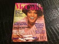 JUNE 1994 MCCALLS womans magazine WHITNEY HOUSTON
