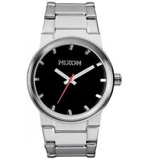 Nixon A160000 Cannon Silver Black Men's Analog Watch