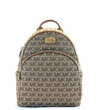 a0ee350e89a6b2 Michael Kors Large Abbey Backpack MK Signature Monogram Bag