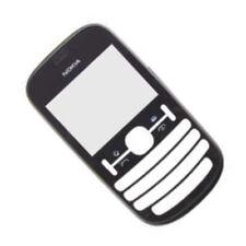 Genuine Original Nokia Asha 201 Black front cover