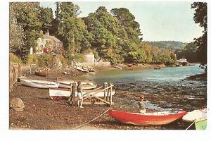 Postcard Porth Navas Falmouth Cornwall UP   (A26)