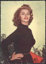Starkarte Starfoto UFA Schauspielerin Sophia Loren um 1968
