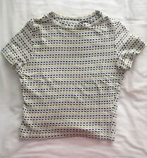Urban Outfitters Multi-colour Printed Crop Top Size XS
