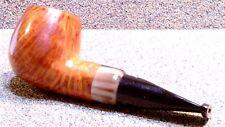 "JURGEN MORITZ - Fat Billiard w/Horn, for ""Chieftain's"" Smoking Estate Pipe"