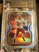 2020 Prizm Clyde Edwards-Helaire Silver Prizm Refractor RC BGS 9.5 Gem Mint 💎
