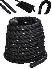 "2"" 50FT Poly Dacron Battle Undulation Rope Exercise Workout Strength Training"