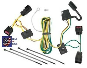Trailer Hitch Wiring Tow Harness For Chevrolet Malibu 2008 2009 2010 2011 2012